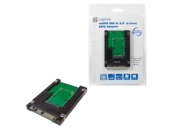 LogiLink Adapter mSATA SDD do SATA 2.5'