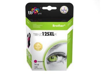TB Print Tusz do Brother LC125XL Magenta TBB-LC125XLM