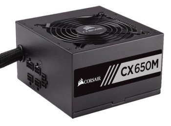 Corsair CX650M 100-240V 650W MODULAR POWER SUPPLY Semi-Modular ATX  Semi-Modular ATX