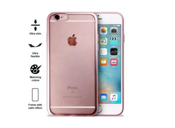 PURO Satin Cover - Etui iPhone 6/6s (Rose Gold)