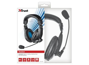 Trust Quasar Headset - black
