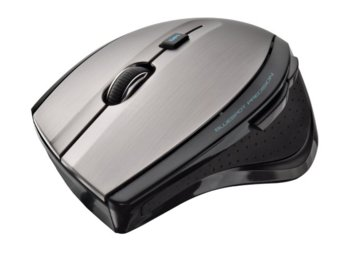 Trust MaxTrack Wireless Mouse black/grey