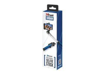 Trust UrbanRevolt Bluetooth Foldable Selfie Stick - blue