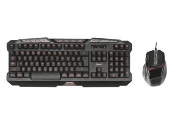 Trust GXT 282 Keyboard & Mouse Gaming Combo Box