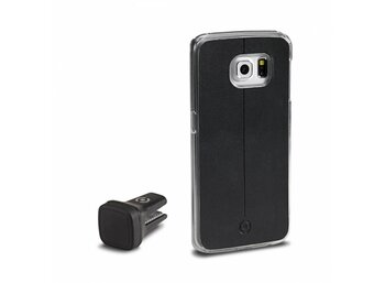 CELLY COVER + UCHWYT MAGNETYCZNY SAMSUNG GALAXY S6 EDGE