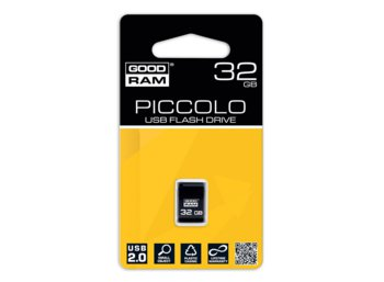 GOODRAM PICCOLO 32GB USB 2.0 Czarny