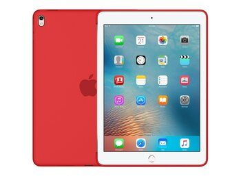 "Apple Silikonowe etui dla iPada Pro 9,7"" - (PRODUCT) RED"