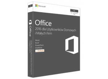 Microsoft Office Mac 2016 Home & Business PL 32-bit/x64 P2  W6F-00851. Stary P/N: W6F-00525