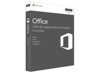 Microsoft Office Mac Home&Student 2016 PL 32-bit/x64 P2  GZA-00991
