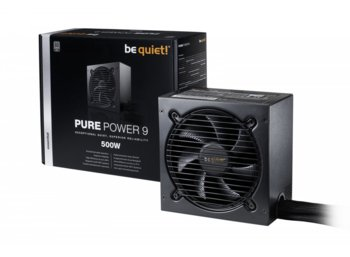 Be quiet! Pure Power 9 500W 80+ Silver BN263