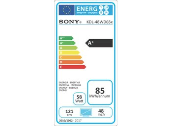 Sony 48'' LED KDL-48WD655BAEP