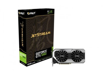 Palit GeForce CUDA GTX1060 JetStream 6GB GDDR5 192BIT DVI/3DP
