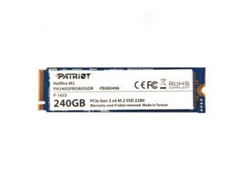 Patriot Hellifire 240GB M.2 2280 PCle SSD