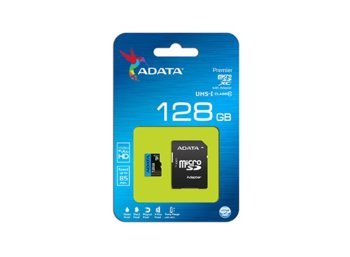 Adata microSD Premier 128GB UHS1/CL10 85/25MB/s+adapter