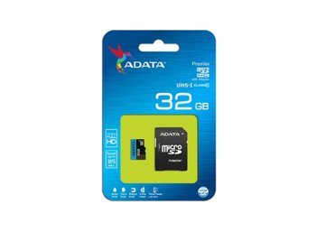 Adata microSD Premier 32GB UHS1/CL10 85/25MB/s+adapter