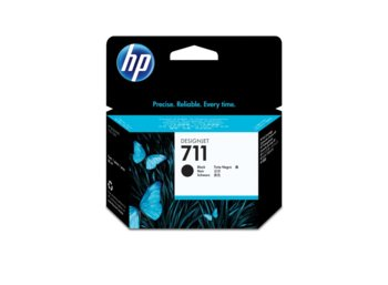 HP Inc. Tusz 711 80ml Black CZ133A