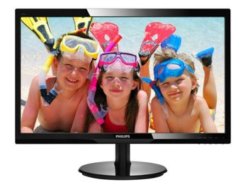 Philips 24'' 246V5LDSB LED DVI HDMI Czarny