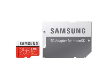 Samsung MB-MC256GA/EU EVO+ mSD +Adapter