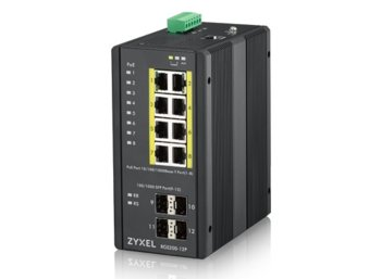 Zyxel Switch Managed PoE 12port RGS200-12P