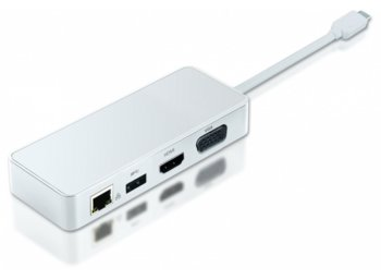 2-Power Stacja Dokująca USB C do HDMI VGA 4K UHD