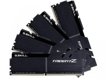 G.SKILL DDR4 32GB (4x8GB) TridentZ 3600MHz CL16-16-16 XMP2 Black