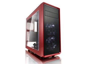 Fractal Design Focus G Window RED 2.5'SDD uATX/ATX/ITX