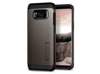 SPIGEN SGP  Tough Armor Gunmetal Etui Galaxy S8
