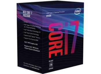 Intel CPU INTEL Core i7-8700K BOX 3.70GHz, LGA1151