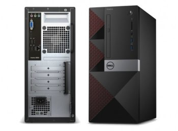 Dell Vostro 3668MT Win10Pro G4560/1TB/4GB/DVDRW/Intel HD/MS116/KB216/3Y NBD