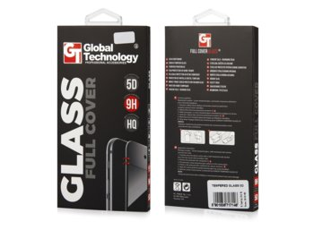 Global Technology TEMPERED GLASS 5D iPhone 7/8 czarny GT