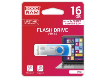 GOODRAM TWISTER 16GB USB3.0 BLUE