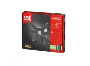 "One For All Uchwyt TV 13-42"" udźwig 40kg VESA od 75x75 do 200x200"