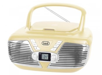 Trevi BOOMBOX CMP562 CD MP3 KREMOWY